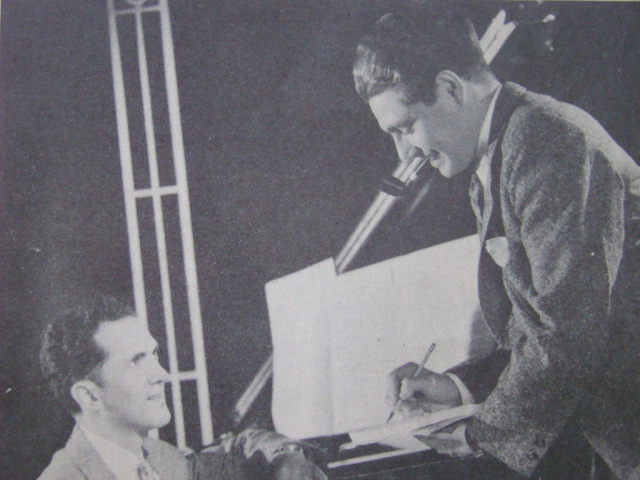 Composer Ralph Rainger wrote numerous popular standards in collaboration with lyricist Leo Robin before his life was tragically cut short in a plane crash on October 23, 1942.