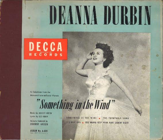 Decca Records' cover of the 78