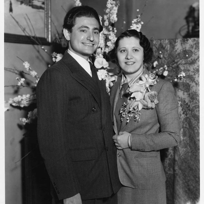 In April 1935, Leo Robin married his first wife, Estelle Clark, whom he and everyone in the family called 'Clarkie.' After nine years, they divorced on October 17, 1944.