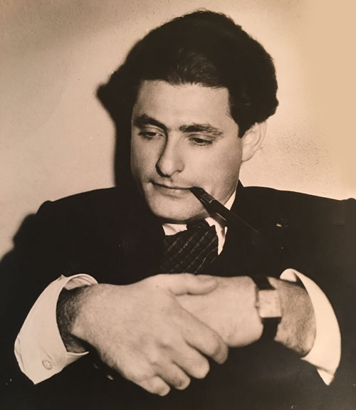 A thoughtful Leo Robin during his Paramount days.